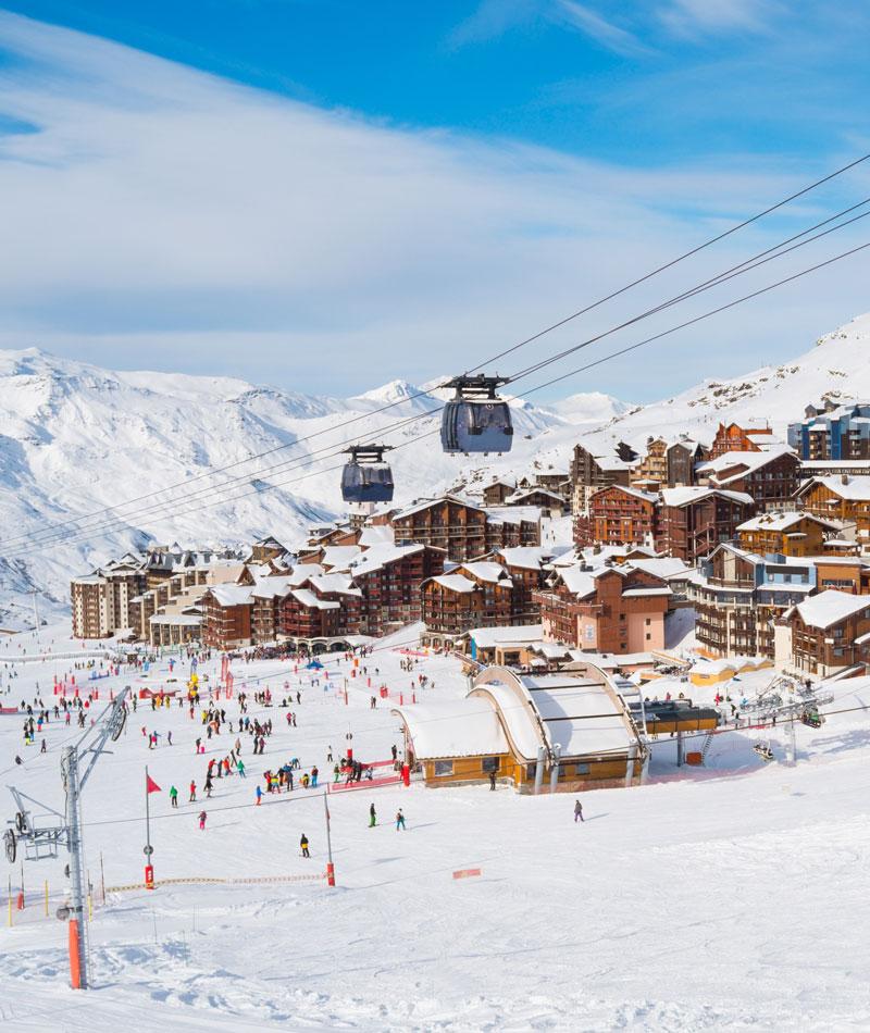 Village de vacances au ski